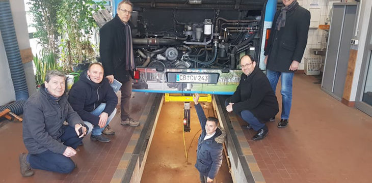 "Unser Projekt ""Infobus Cottbuser Ostsee"" nimmt weiter Formen an."