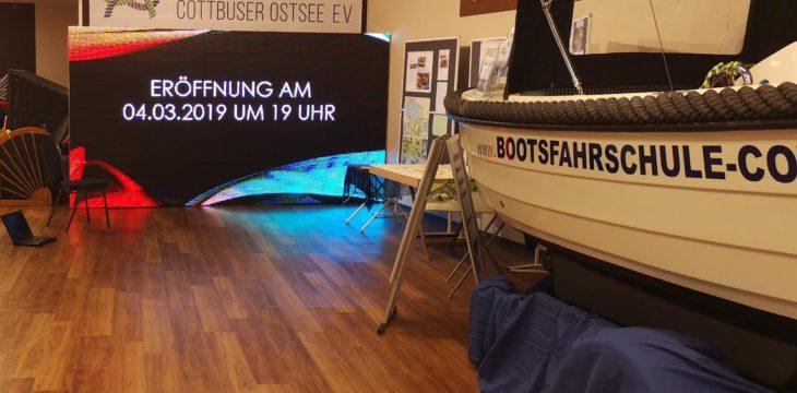 Der Cottbuser Ostsee geht in die Spree-Galerie!