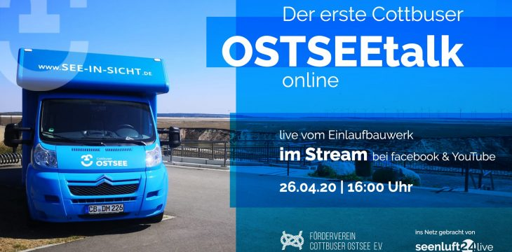 Der erste Cottbuser OSTSEEtalk geht am 26. April online!